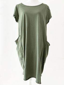 Jurk-groen-zakken
