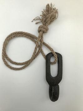 Katrol met touw
