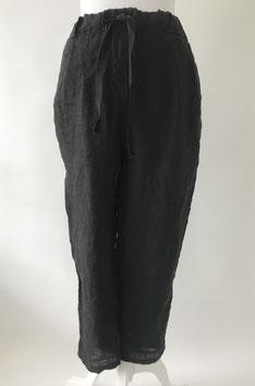 Broek-linnen- zwart