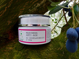 Maschera Anti-Age ai Bioflavonoidi d'uva