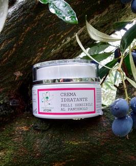 Crema idratante per pelli sensibili al Pantenolo
