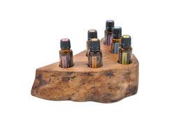 Ahornholz Aufsteller / Display für 6 ätherische Öle von dōTERRA 15 ml Fl. Nr.1
