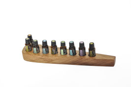 Currupayholz Aufsteller / Display für 9 ätherische Öle von dōTERRA 15 ml Fl. Nr.1