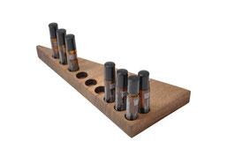 Wallnusholz Aufsteller / Display für 10 Roll-Ons von  dōTERRA  10 ml Fl. Nr.5