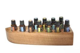 Eschenholz Aufsteller / Display für 11 ätherische Öle von dōTERRA 15 ml Fl. Nr.8