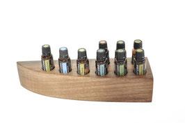 Eschenholz Aufsteller / Display für 9 ätherische Öle von dōTERRA 15 ml Fl. Nr.3