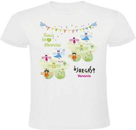Camiseta Busca las 7 diferencias ¿Jugamos?