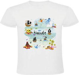Camiseta Mapa del tesoro pirata ¿Jugamos?