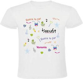 Camiseta Busca tu par ¿Jugamos?