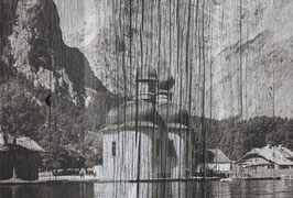 Fotodruck auf Altholz, 35cm x 23cm,             3er Set,