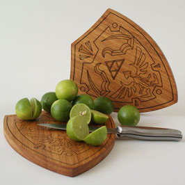 Tabla de Madera Escudo Hyliano