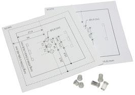 Lichtleiter-Set für cryplock HF-Leser R-MD 55 uP