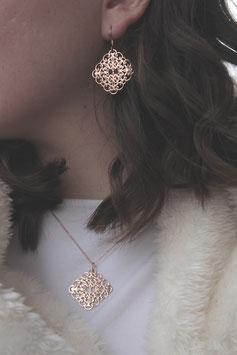 Ohrringe Ornamente Raute