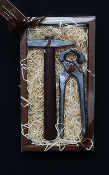 Geschenkset Hammer & Beisszange