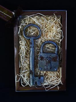 Geschenkset Schlüssel & Schloss