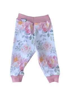 Legging Flowers weiß