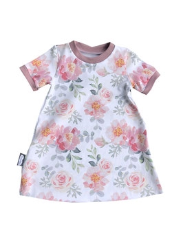 Kleid Flowers weiß