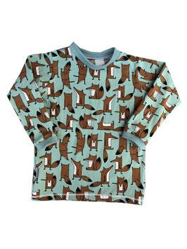 Shirt Fuchs Schattengrün