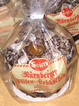 500g Nürnberger Elisen-Lebkuchen