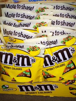 1,2kg M&M´s Peanut Spooky Colours Edition