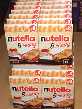 10 x Nutella B-Ready - 1,53kg