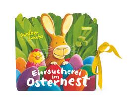 Eiersucherei im Osternest. Mein Oster-Such-Spaß-Leporello