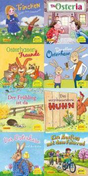 Pixi Bücher, Pixi-Buch Serie 250 (Osterbesuch bei Pixi), 8 Hefte