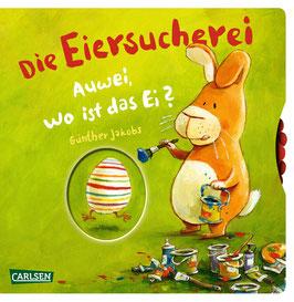 Die Eiersucherei. Auwei wo ist das Ei?