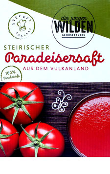 Paradeisersaft 3 Liter Bag
