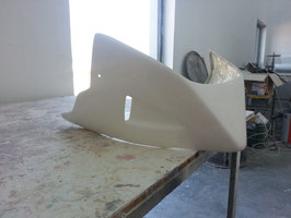 Puntale per Suzuki GSR 600 in vetroresina