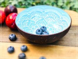 Coconut Bowl Boho Style Turquoise