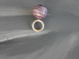 Kugelanhänger violett (amethyst)