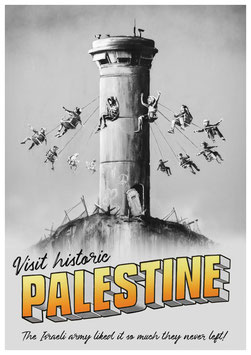 Banksy - Palestine