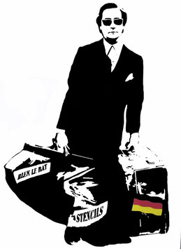 Blek le Rat - The Man who walks through walls (German)