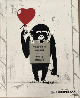 Real Not Banksy Front -  True Love Fake Art Suckers!