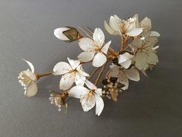 CHERRY BLOSSOM - White & Gold