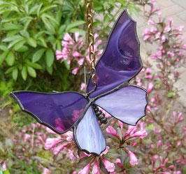 """Glas in lood vlinder """"Louise"""""""