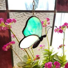 "Glas in lood vlinder ""Charlotte"""