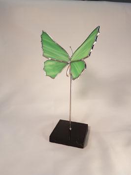 """Glas in lood vlinder """"Staand"""""""