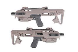 Roni G1 CAA per modelli Glock 17/18c CAD-SK-01-DE color Desert