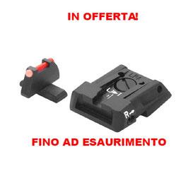 Set di Mira e Tacca di mira LPA per BERETTA APX  Genuine E01806