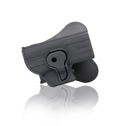 CYTAC Fondina in polimeri con tasto per Glock 26-27-33 CY-G27
