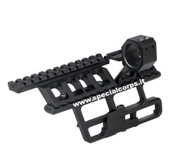 Slitta Rail tactical per piattaforma AK 3in1 (aggancio rapido) codice: AT5035