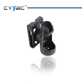 Porta torcia in polimeri sgancio rapido CY-FH02