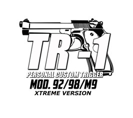 TR-1 ®XTREME VERSION  Beretta Mod. 92/98/M9 Kit Completo