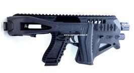 CAA Micro Roni  GEN 4 per Glock 17/19  (Colore nero)  Kit Naked