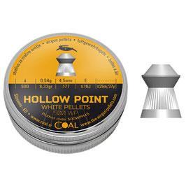 COAL PALLINI PER ARIA COMPRESSA HOLLOW POINT DIAM. 4,50 MM CE000014
