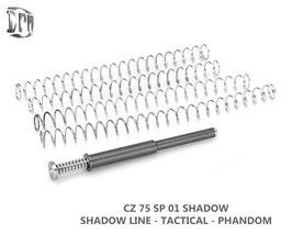 DPM CZ 75 SP01 SHADOW LINE-TACTICAL / TS Orange