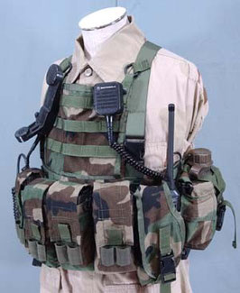Woodland Camouflage Blackhawk Ranger Assault Carry Kit (R.A.C.K.) Kit