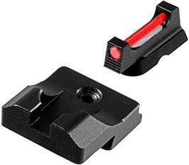 TRUGLO Fiber Optic PRO Mirino e Tacca di mira per Glock  20/21 - 40/41 codice TG132G2